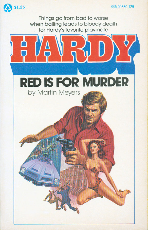 Hardy, Red is for Murder by Martin Meyers